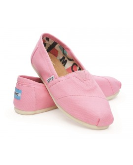 Toms Classic canvas pink
