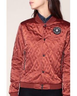 G-Star Quilted bomber takki brown