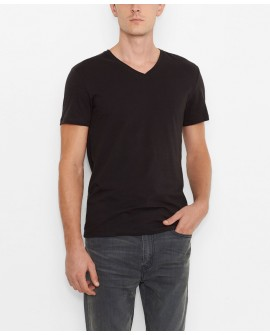 Levis Slim V-neck 2-pack T-paita black