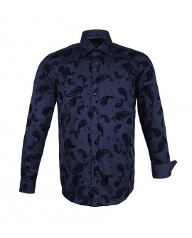 Guide Shirt LS kauluspaita navy