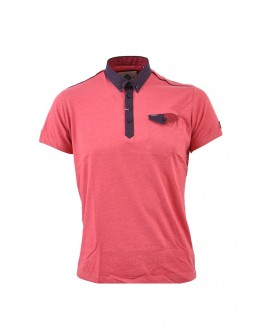 Guide Small detail polo Red