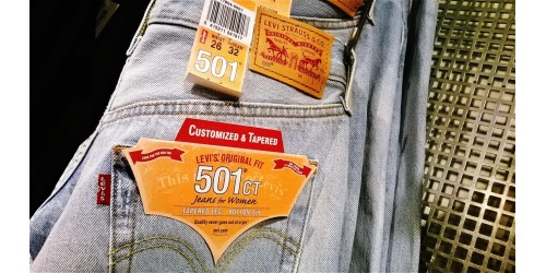 Levi's 501ct - Quality never goes out of style